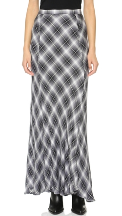 Cupcakes and Cashmere - Whitworth Plaid Maxi Skirt