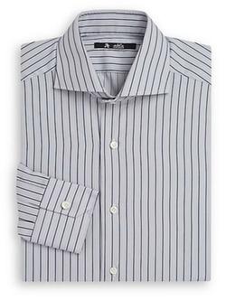 Abla  - Striped Cotton Dress Shirt