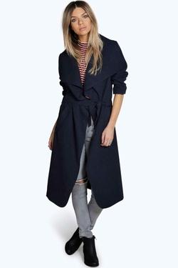 Boohoo  - Kate Shawl Collar Coat