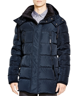 Andrew Marc - Landowne Hooded Down Parka Jacket