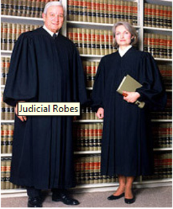 Oak Hall Cap & Gown - Judicial Robes