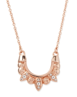 Pamela Love  - Rose Gold-Plated Mini Tribal Spike Necklace