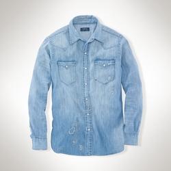 Ralph Lauren - Indigo Denim Western Shirt