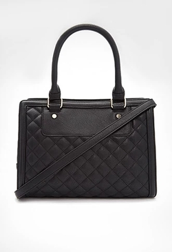 Forever 21 - Quilted Rectangle Satchel Bag