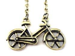 Bonanza - Bicycle Pendant Necklace