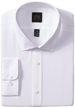 Oxford NY - Solid Spread Collar Shirt