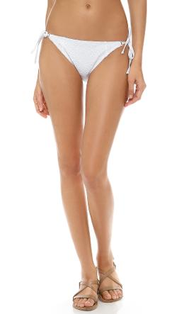 Nanette Lepore  - Ooh La La Eyelet Bikini Bottoms
