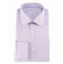 Charvet - Check Barrel-Cuff Dress Shirt