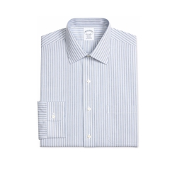 Brooks Brothers - Blue Striped Dress Shirt