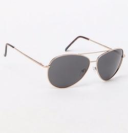 Pacsun - Gold Aviator Sunglasses