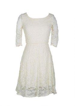Delias - Rosie Lace Skater Dress