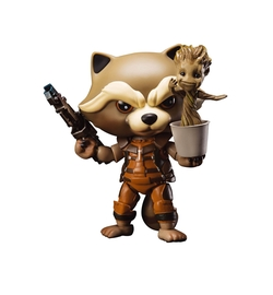 Beast Kingdom - Egg Attack Action Rocket Raccoon Action Figure