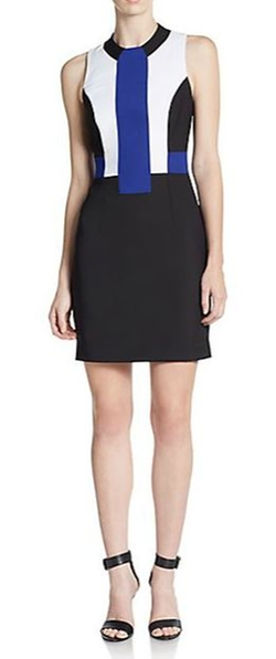 French Connection  - Edyta Colorblock Sheath Dress