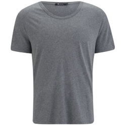 T by Alexander Wang - Classic Pima Cotton Low Neck T-Shirt