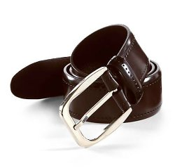 Brioni - Solid Leather Belt