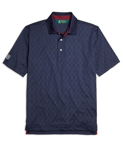 Brooks Brothers - St Andrews Links Embossed Polo Shirt