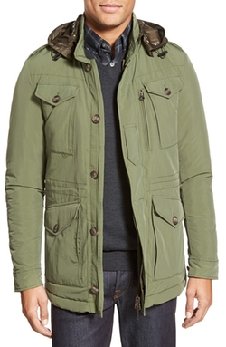 Baracuta  - Hooded Field Jacket