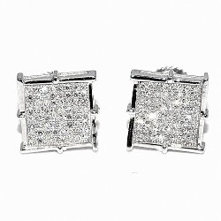 Midwest Jewellery  - Diamond Stud Earrings
