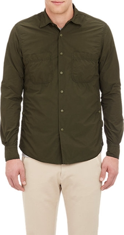 Aspesi - Tech Fabric Military Shirt