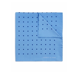 Turnbull & Asser - Basic Color Dots Pocket Square