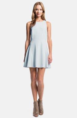 1.State  - Fit & Flare Godet Dress