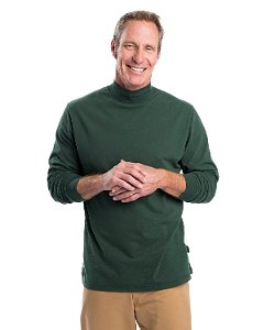 Woolrich  - Bannock Sueded Jersey Mock Turtleneck