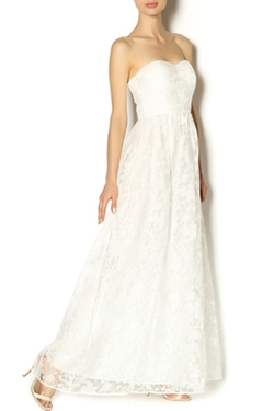 Minuet - White Flower Gown