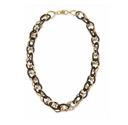 Ashley Pittman - Kamba Dark Horn Necklace