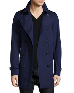 Burberry London  - Double-Breasted Trench Coat
