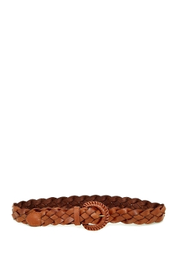 Fashion Focus Accessories - Braided Leather Belt