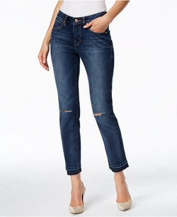 Jag - Rochelle Slim-Fit Dark Wash Ankle Jeans