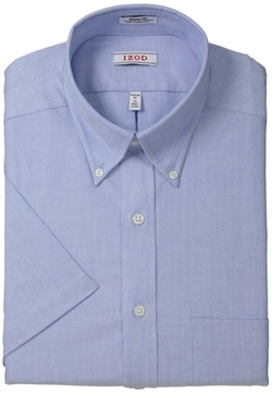 Izod - Short Sleeve Oxford Solid