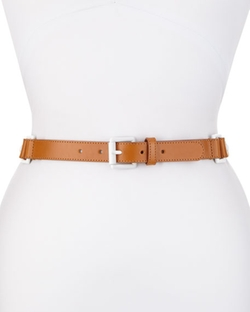 Lafayette 148 New York - Square-Ring Leather Belt