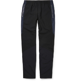 Tim Coppens - Panelled Cotton-Blend Sweatpants