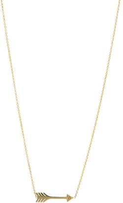 Jennifer Meyer  - Arrow Pendant Necklace