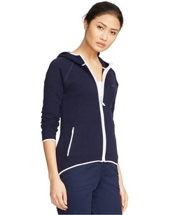 Lauren Ralph Lauren - Cotton Full-Zip Hoodie