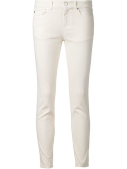 Alexander Mcqueen - Cropped Jeans