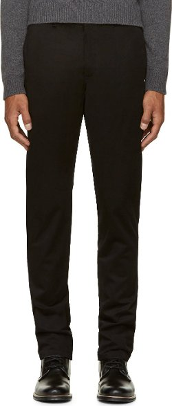 A.P.C.  - Black Classic Chino Trousers