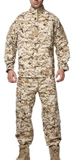 Xinandy - U.S. Military Army Marines Desert Camouflage Uniforms