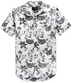 Hurley - Meadowlark Floral-Print Short-Sleeve Shirt