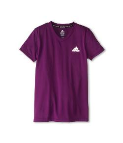 Adidas Kids - Climalite S/S V-Neck