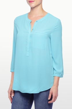 NYDJ - Georgette 3/4 Blouse