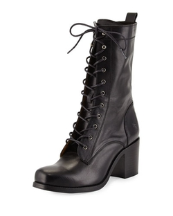 Frye - Kendall Leather Lace-Up Boot