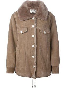 Acne Studios - Oversized Shearling Coat