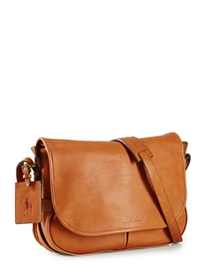 Polo Ralph Lauren  - Core Leather Messenger Bag