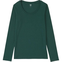 Uniqlo - Modal Crewneck Long Sleeve T-Shirt
