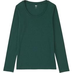 Uniqlo - Modal Crewneck Long Sleeve T-Shirt