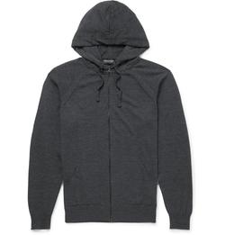 John Smedley - Rickon Merino Wool Hoodie Jacket