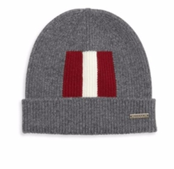 Bally - Rib Knit Wool Beanie Hat
