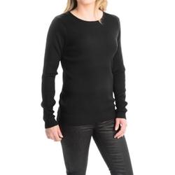 FDJ French Dressing  - Rib-Knit Fine Gauge Sweater